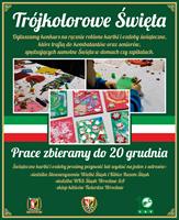 Trójkolorowe Święta - konkurs plastyczny